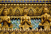 Golden garuda in grand palace Bangkok Thailand — Stock Photo