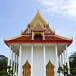 Stock Photo: Church in Temple Angthong Thailand