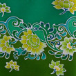Batic Fabric Flower South of Thailand — Stock Photo