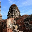 Buddha Image in Pagoda Lopburi of Thailand — Stock Photo