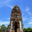 Wat Phasrirattanamahathat in Lopburi of Thailand — Stock Photo