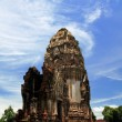 Wat Phasrirattanamahathat in Lopburi of Thailand — Stock Photo #4268214