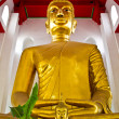Royalty-Free Stock Photo: Big buddha image in temple Thailand