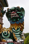 Lion sculpture chinoise à bang pa-in palace — Photo