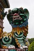 León chino escultura en bang pa-en palacio — Foto de Stock