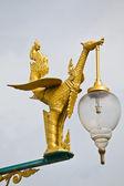 白鳥の通りランプのイメージ — ストック写真