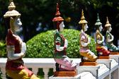 Deva w tradycyjnym tajskim stylu ozdoba — Zdjęcie stockowe