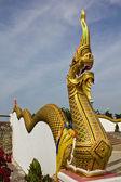 Figura mitica buddista del naga — Foto Stock
