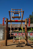 Ancient china swing — Stock Photo