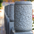 A head of column chinese style - Stockfoto