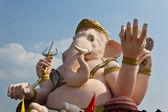 Il dio della saggezza e difficoltà statua di ganesha — Foto Stock