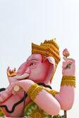 Bóg mądrości i trudności statua ganesha — Zdjęcie stockowe