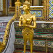 Kinaree, a mythology figure, is watching the temple in the Grand — Stock Photo #5004120