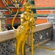 Kinaree, a mythology figure, is watching the temple in the Grand — ストック写真