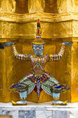 Guardian of Wat Pra Kaew Grand Palace Bangkok — Stock Photo
