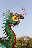 Chinese dragon statue — Stock Photo
