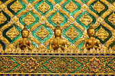 Thai traditional angle in Wat Phra Kaew Temple , bangkok Thailand — Stock Photo