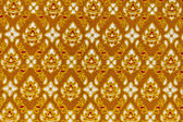 Pattern on the thai cloth — Stock Photo