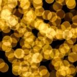 Gold spots bokeh background — Stock Photo #5054243