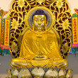 图库照片: Golden buddhimage
