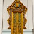 Traditional Thai style on door - Zdjęcie stockowe