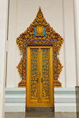 Traditional Thai style on door — Foto de Stock