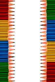 Pencils on White Background — Stock Photo