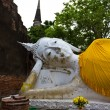 Reclining of buddha in Wat Yai Chai Mongkhon — Stock Photo