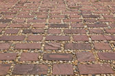 Stones of the pavement pattern — Stock Photo