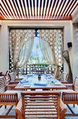 Hotel restaurant — Stock Photo