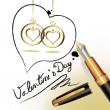 Valentine's day — Stock Vector #4395232
