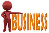 Homem de negócios — Foto Stock