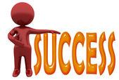 Successful person — Stock Photo