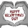 Happy valentines day — Stockfoto