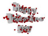 3d-gelukkige valentines dag — Stockfoto