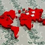 World map — Stock Photo #5224453