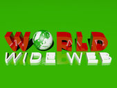 World wide web — Foto Stock