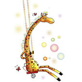 жираф — Foto de Stock