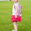 Cute blonde toddler — Stock Photo #4298706