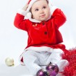 Sweet Christmas baby — Stock Photo #4299071