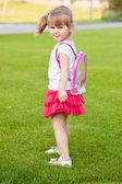 Cute blonde toddler — Stock Photo