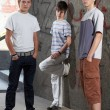 Stock Photo: Three young boys