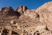 Mount Sinai Rocks — Stock Photo