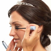 Wedding makeup — Stock Photo