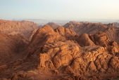 Panorama rocks in early morning — Stock Photo