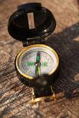 Armén kompass närbild — Stockfoto