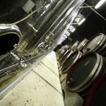 moderne wijnkelder — Stockfoto #4732621