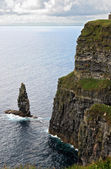 The Great Sea Stack at the Cliffs of Moher — Stok fotoğraf