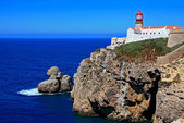 Lighthouse Cabo de Sao Vicente — Stock Photo