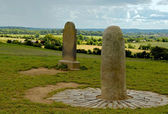 Standing Stone Hill of Tara — Stock Photo